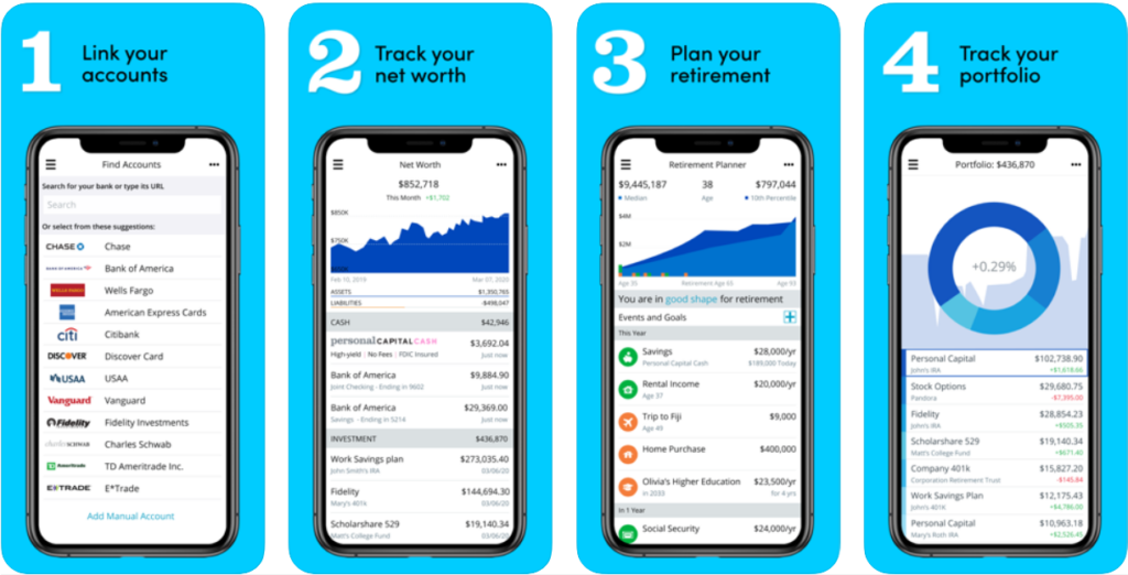 Personal Capital apps